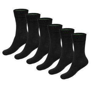 BEAU 6-pack bamboe sokken