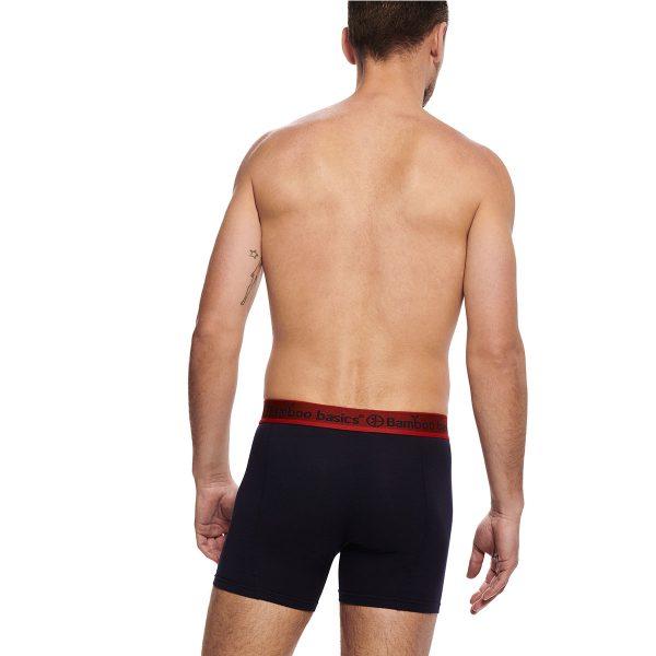 RICO 3-pack boxershort navy, zwart, zwart