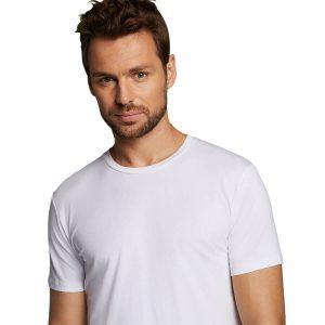 ruben wit ronde hals t-shirt