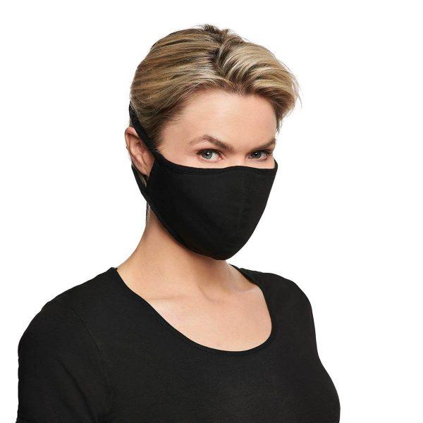Bamboo basics face mask woman
