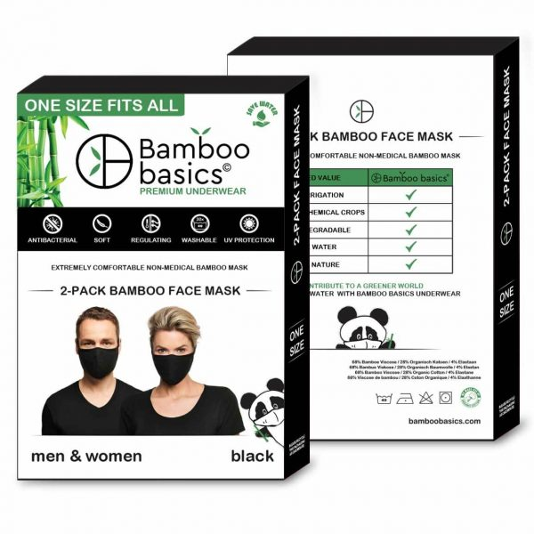 bamboo basics mondkapje package