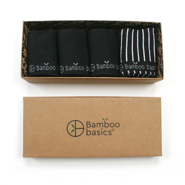 BEAU Giftpack sokken 4-pack zwart