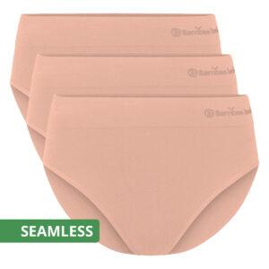 BELLE seamless full brief roze
