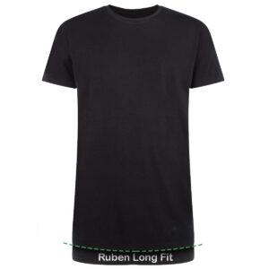 Long Fit RUBEN 2-pack zwart